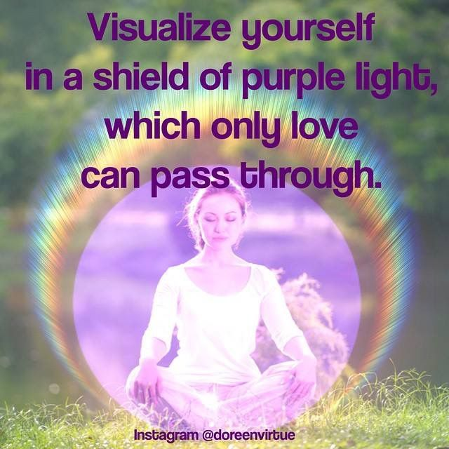 Violet Light Prayer For Protection Spirituality Mind Body Soul
