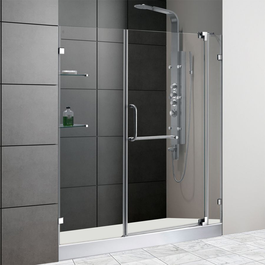 965 Shop Vigo 54 In To 60 In Frameless Pivot Shower Door At Lowes