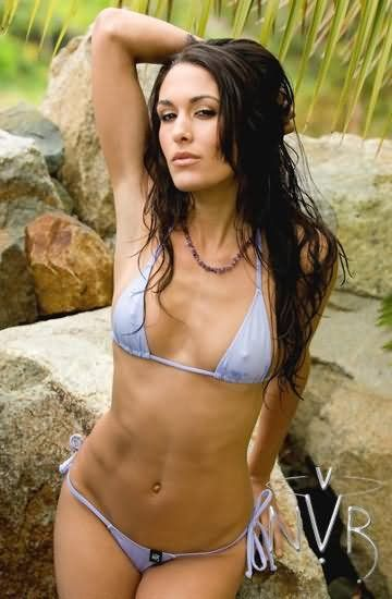 Wwe Diva Nikki Bella In Bikini