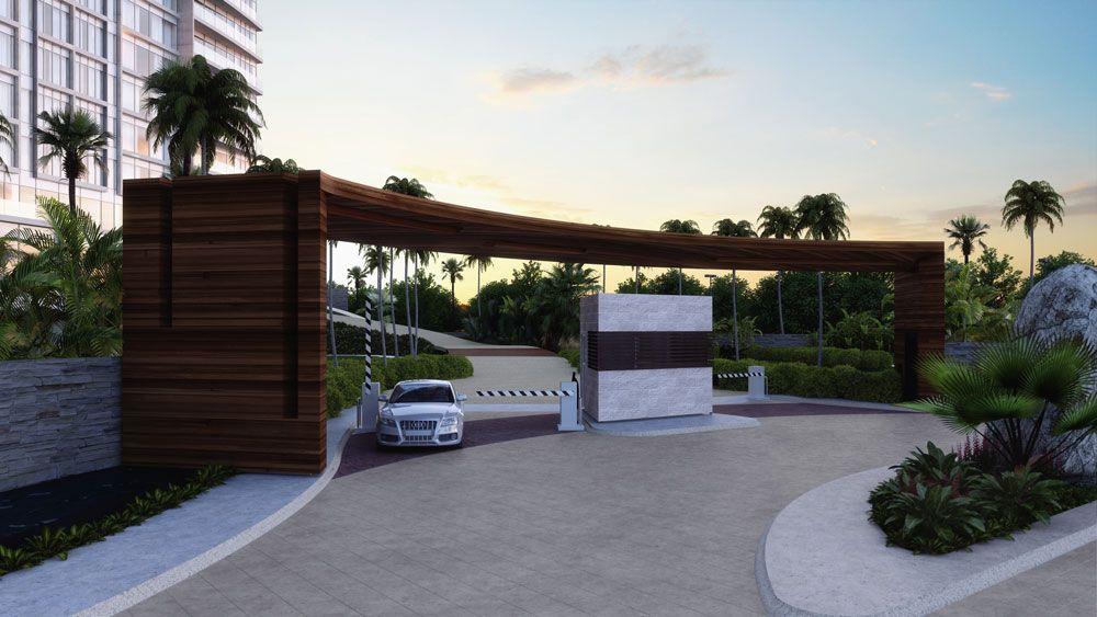 Departamento residencial en venta en fraccionamiento for Accesos arquitectura