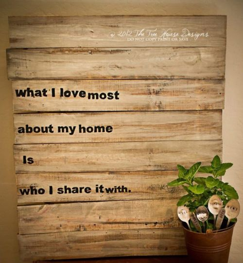 DIY wooden sign - cute and very true @Ashley Walters Walters Barwick