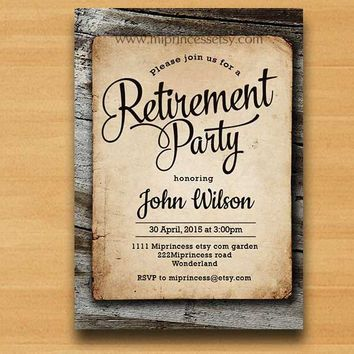 retirement party invitations search invitations