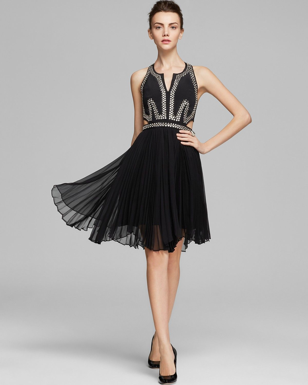Rebecca taylor dress embellished with cutouts bloomingdales rebecca taylor dress embellished with cutouts bloomingdales ombrellifo Image collections