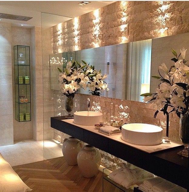 29 Disenos Banos Visitas Elegantes 21: Baños, Decoracion Baños E Cuarto De Baño