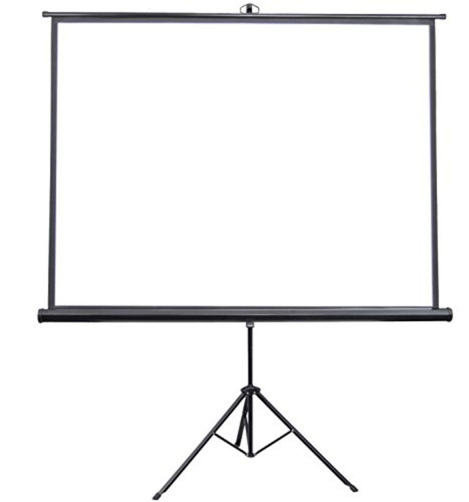 Vivo Portable Indoor Outdoor Projector Screen Hd Pull Up Foldable Stand Tripod Vivo Outdoor Projector Screens Outdoor Projector Projector Screen