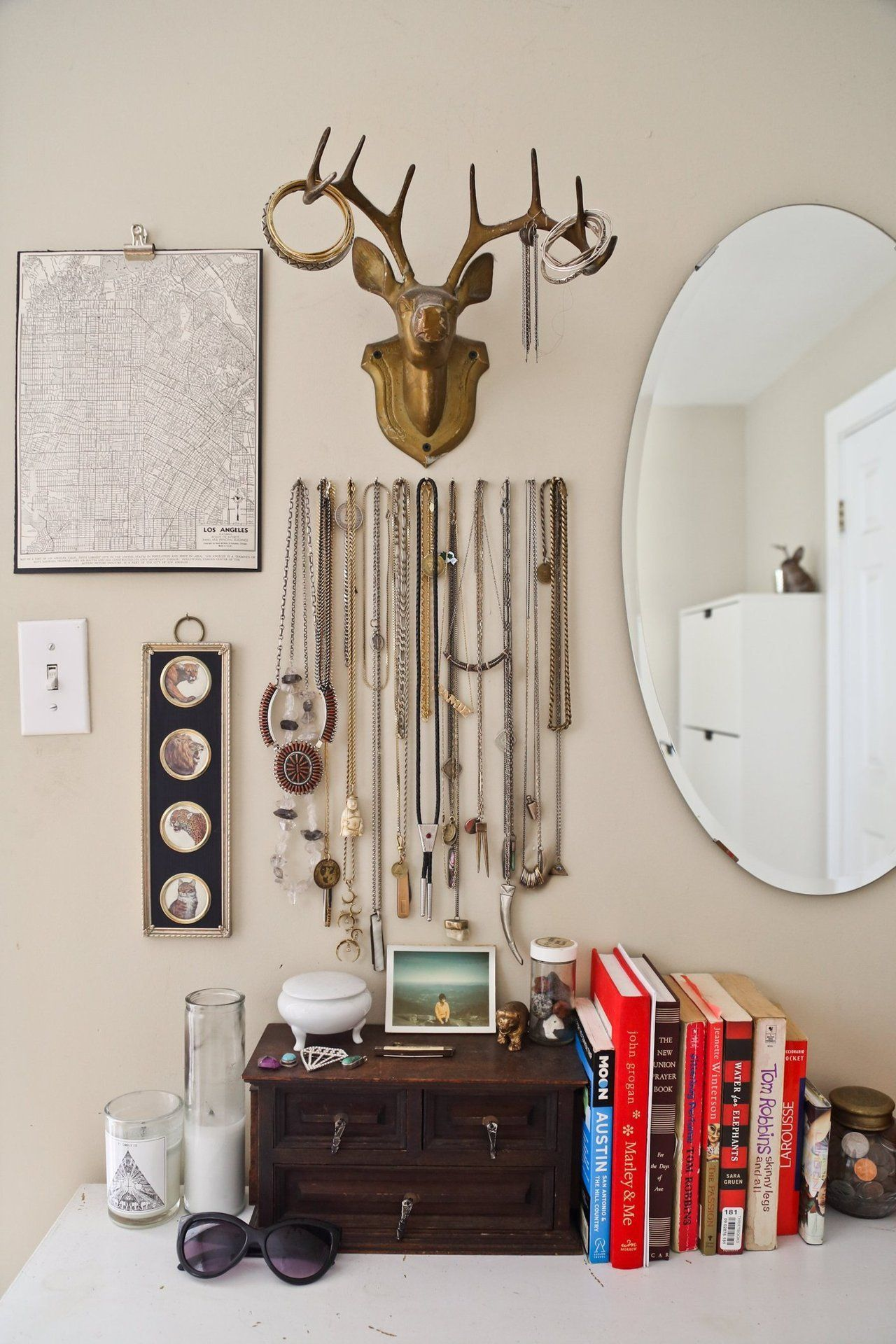 House Tour Eclectic Sensibility in Los Angeles