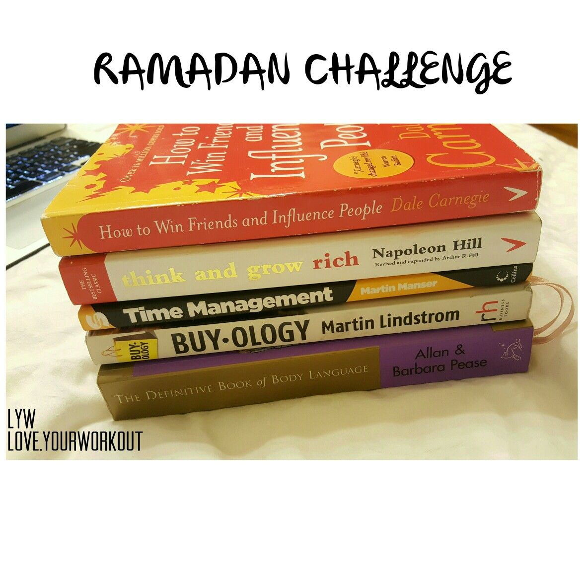 Ramadan Challenge - Read 6 books during the holy month