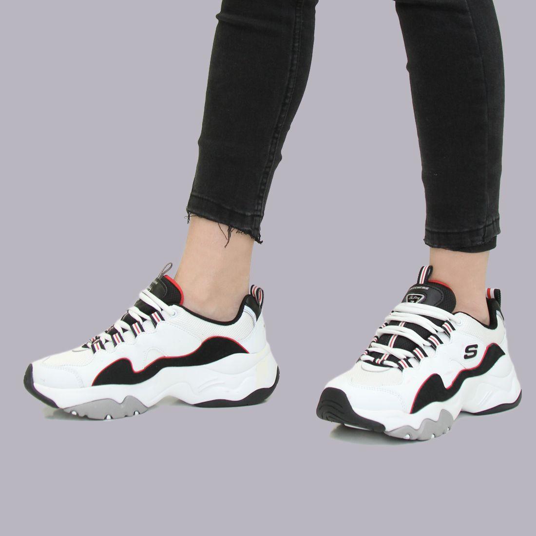 marca de zapatos deportivos skechers white