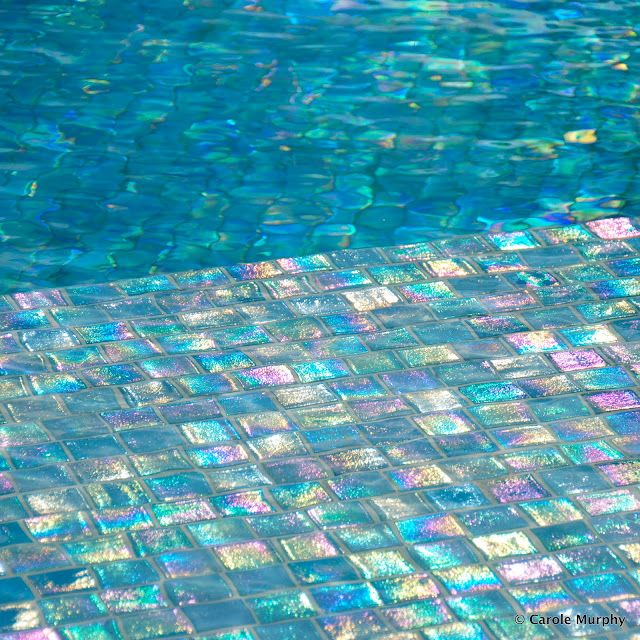 Pool Tile - La Blanc Spa Resort | Iridescent in 2019 ...