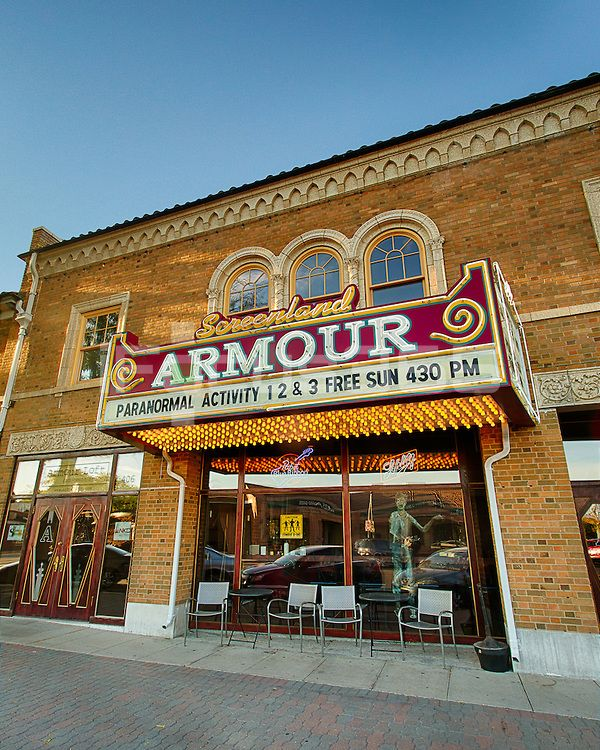 Historic Screenland Armour Theater Kansas City Missouri Kansas