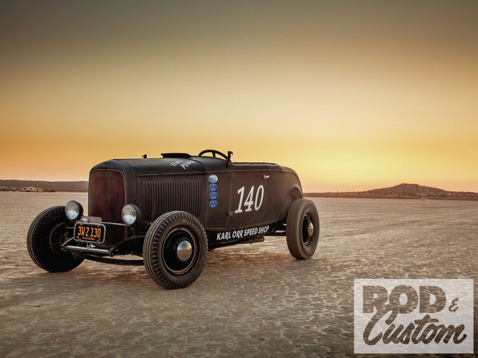 1932 Ford Roadster At Bonneville Ford Roadster 1932 Ford Roadster Hot Rods Cars Muscle