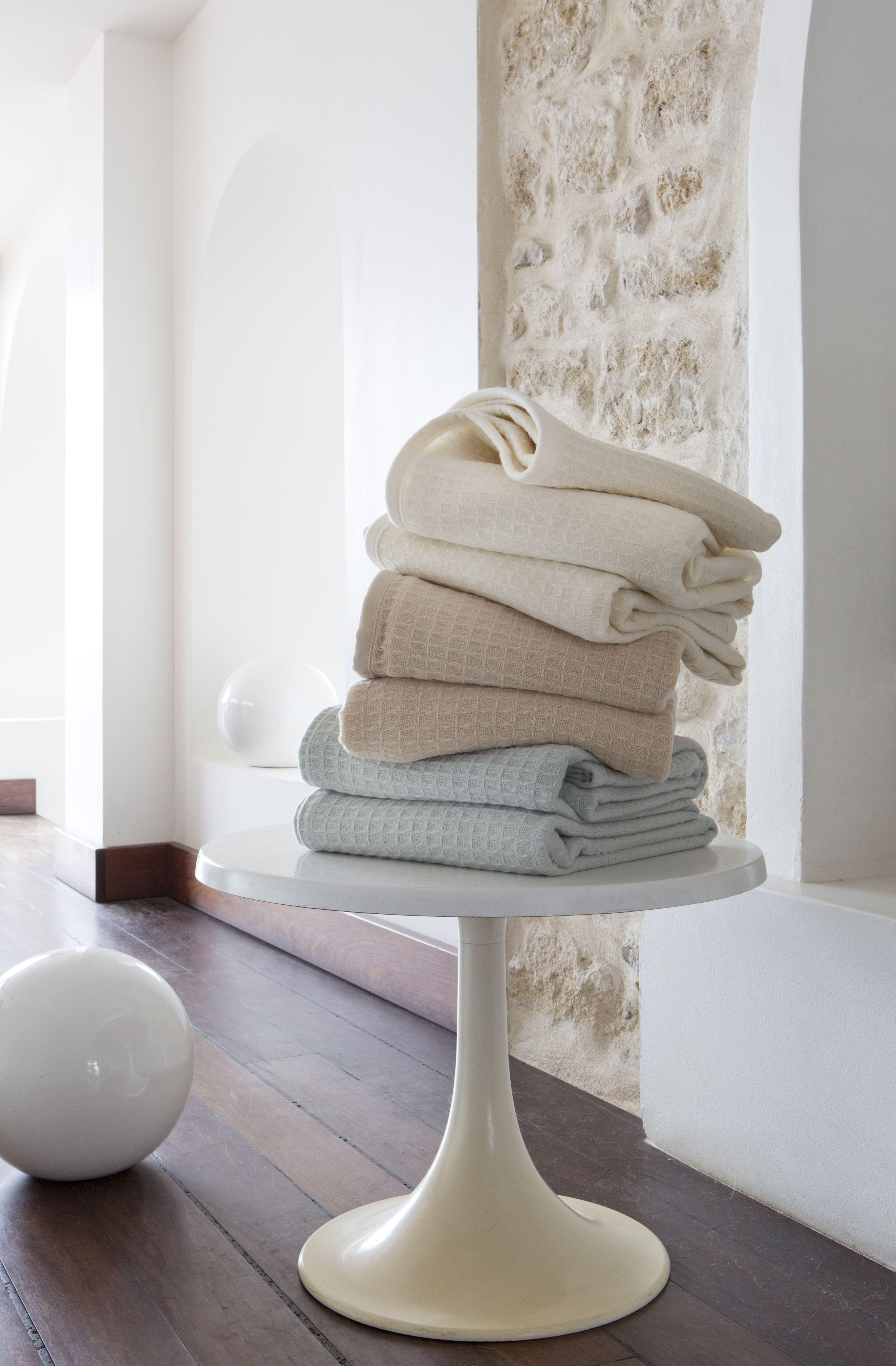Photo Salon Feng Shui nuage couverture d'été en laine mérinos / merino wool summer