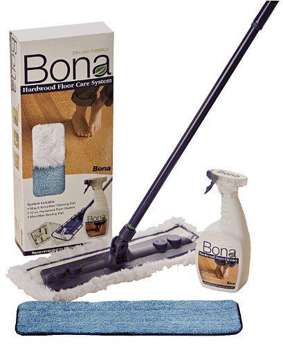 Bona 4 Piece Hardwood Floor Care System Hardwood Floor Care Clean Hardwood Floors Cleaning Wood Floors