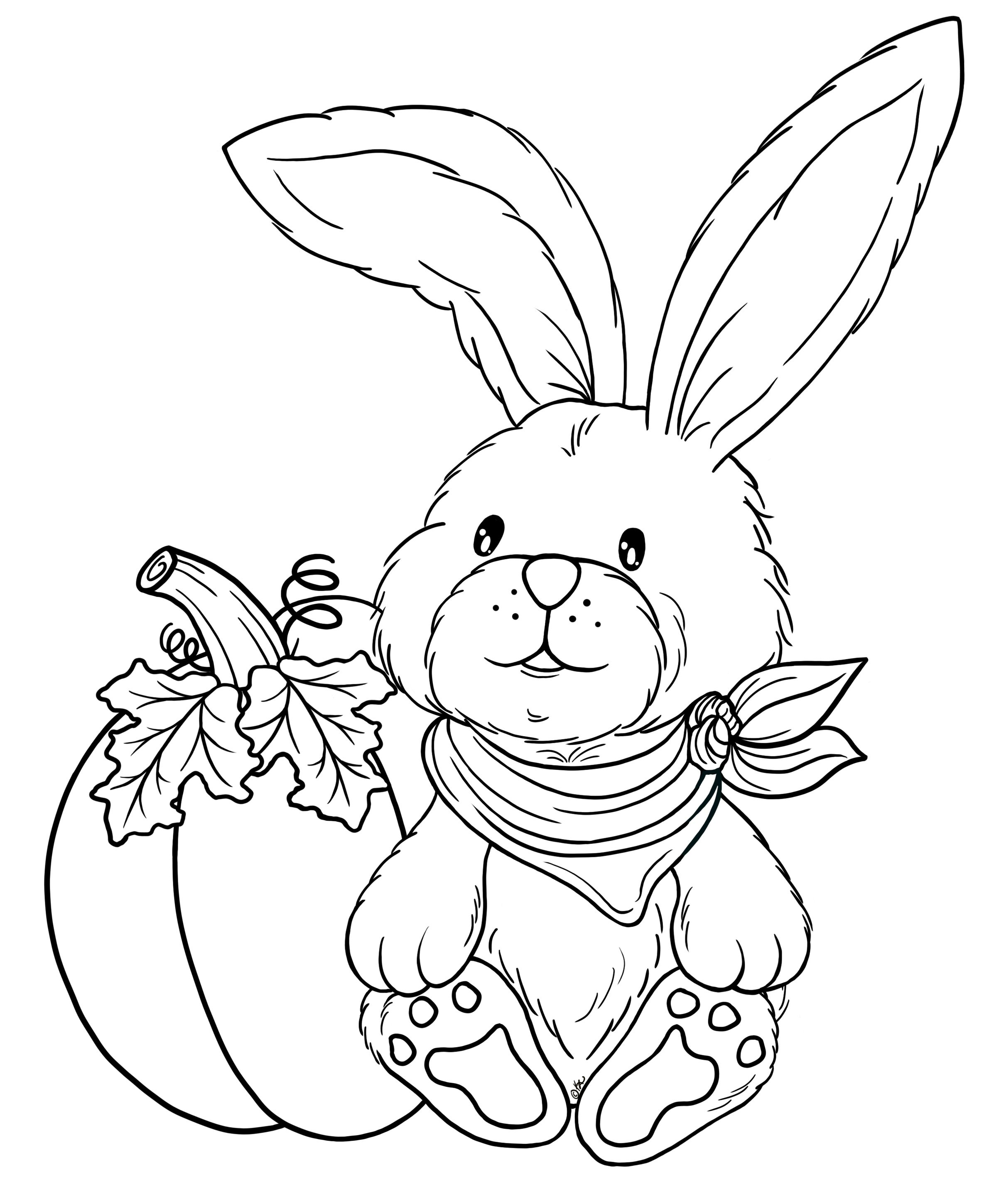 its happy bunny coloring pages - photo#16
