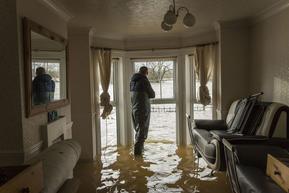 Huffpost Is Now A Part Of Verizon Media Flooded House Flood Damage Damage Restoration