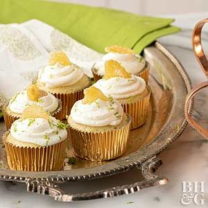 Moscow Mule Cupcakes Recipe Homemade Pastries Lime Cupcakes