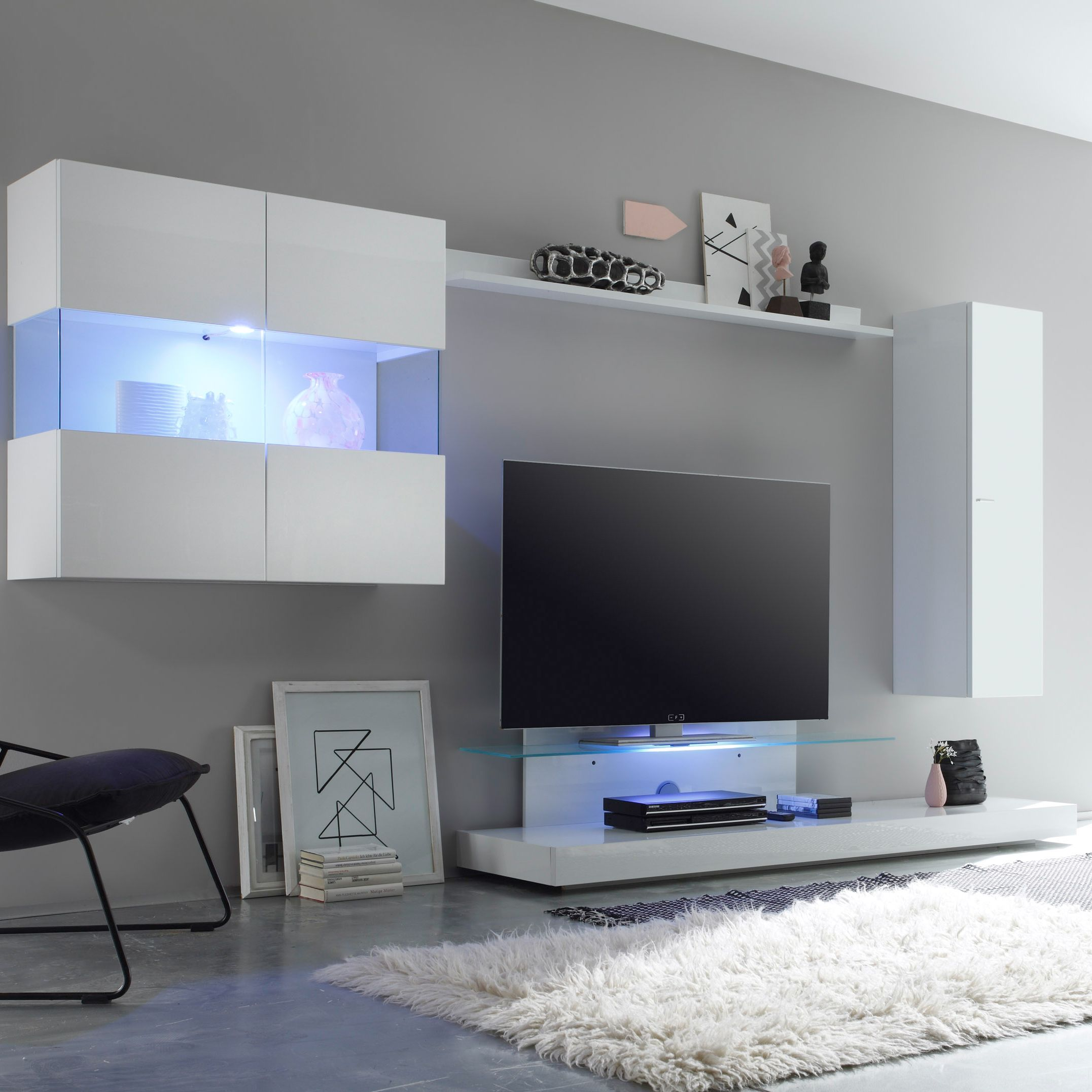 Wohnwand design  Klare Linien und ein hervorragendes #Design sind die wesentlichen ...