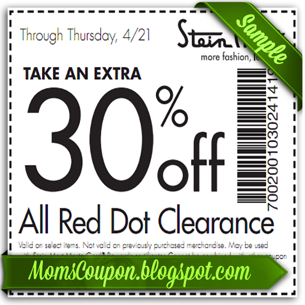 Stein Mart printable coupon 10 off February 2015 Coupon