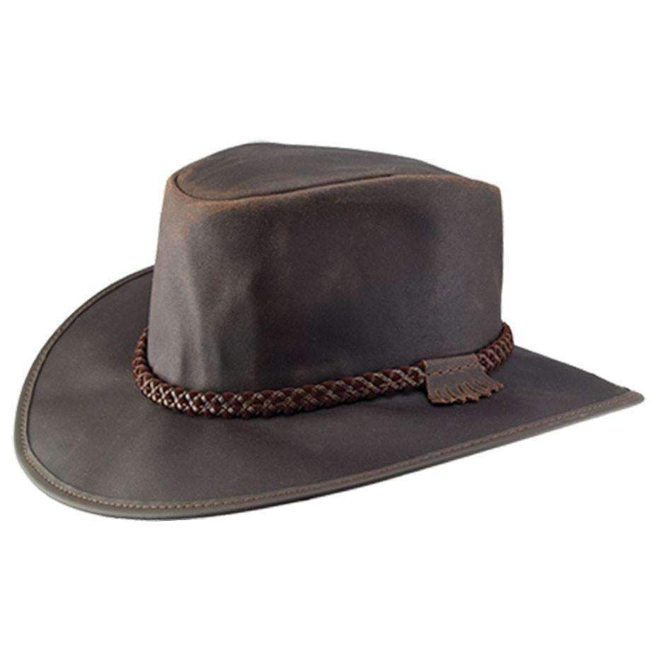 Head N Home Crusher Outback Leather Hat Up To Xxl Brown Leather Hats Hats For Men Leather