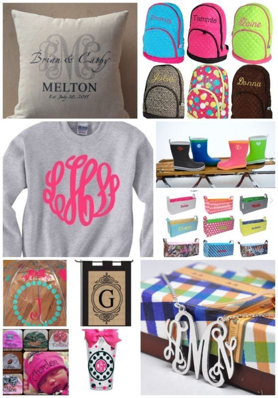 Best Monogrammed Gift Ideas