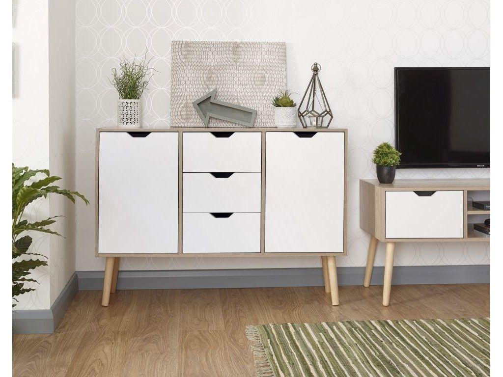 Oak Living Room Storage | Plastic Storage Cabinets, Retro Sideboard, Living Room Storage Cabinet