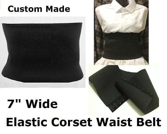 Wide Corset Belt Wide Elastic Corset belt Wide by SocoDesign, $22.00