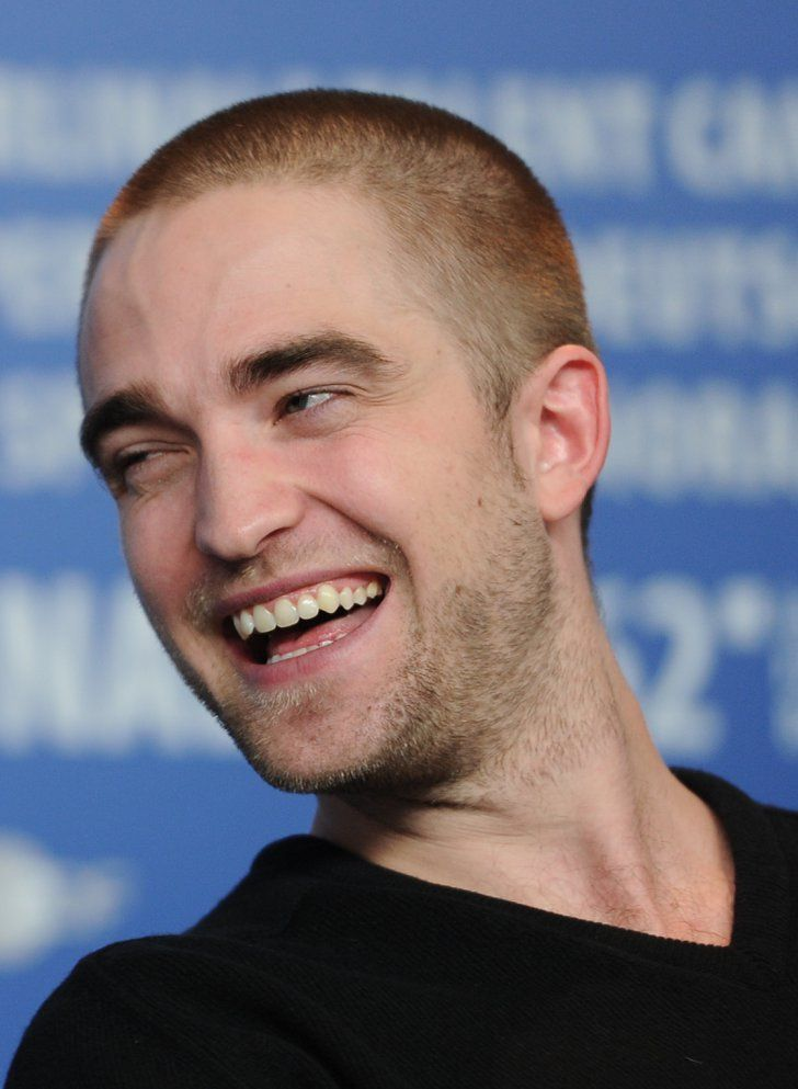 Pin for Later: Wenn Robert Pattinson erst einmal anfängt zu lachen... Robert Pattinson