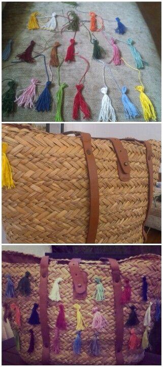 Customizar cesta playa