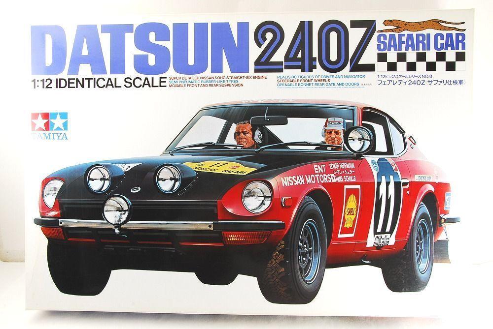 Tamiya 1 12 Datsun 240z Safari Car Big Scale Series No 8 Rare Made In Japan Nissan Toy Car Tamiya
