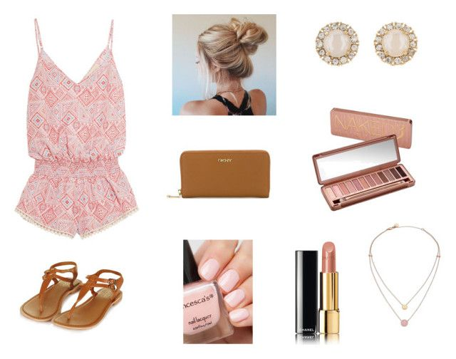 """"""""""" by kariannsweeney ❤ liked on Polyvore featuring Paloma Blue, Topshop, DKNY, Urban Decay, Chanel, Kate Spade and Michael Kors"""