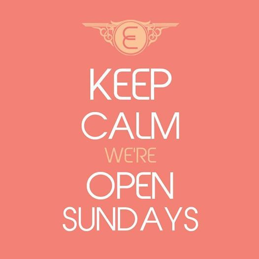 Keepcalm We Are Open Sundays Promotions Offers Shopping