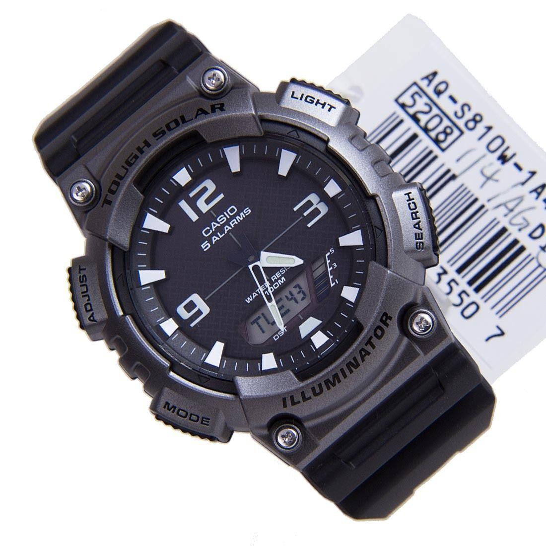 Harga Jual Lyst G Shock Sport Aqs810w 8av Black Rubber Quartz Watch Casio Analog And Digital Aq S810w 3av Jam Tangan Pria Strap Hijau 1a4 1a4vdf Alarm Gents Watches