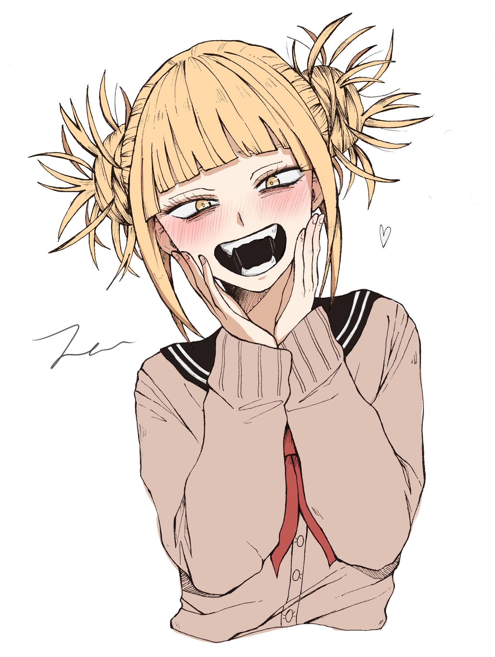 Toga Himiko My Hero Academia Mha Bnha Villain Animegirl Anime Plusultra My Hero Academia Manga Toga My Hero