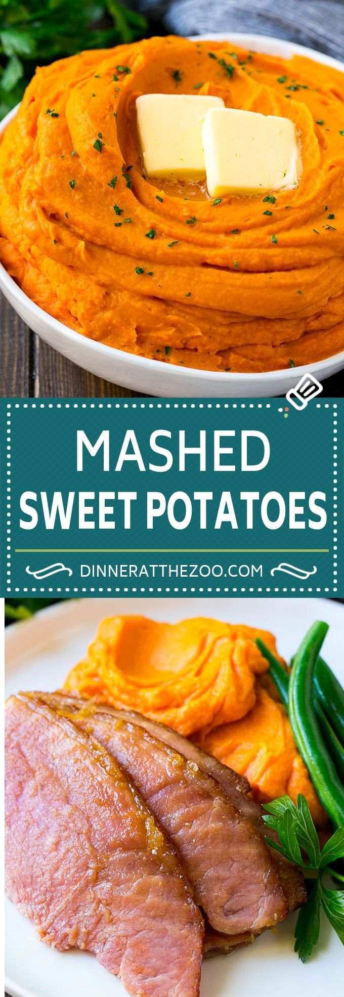 Mashed Sweet Potatoes - Dinner at the Zoo