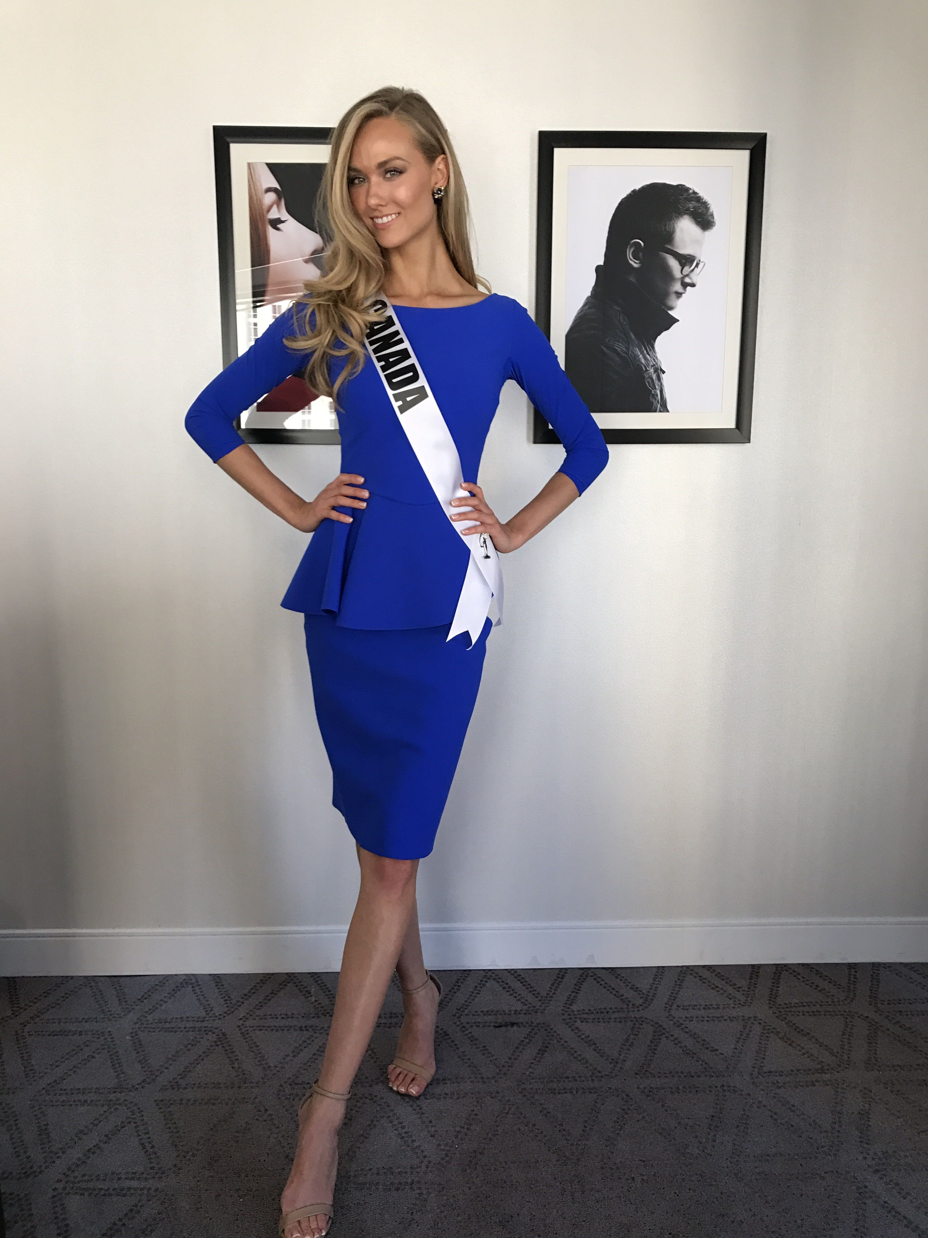 12e724cfc Dress  Chiara Boni Miss Canada  laurenhowe