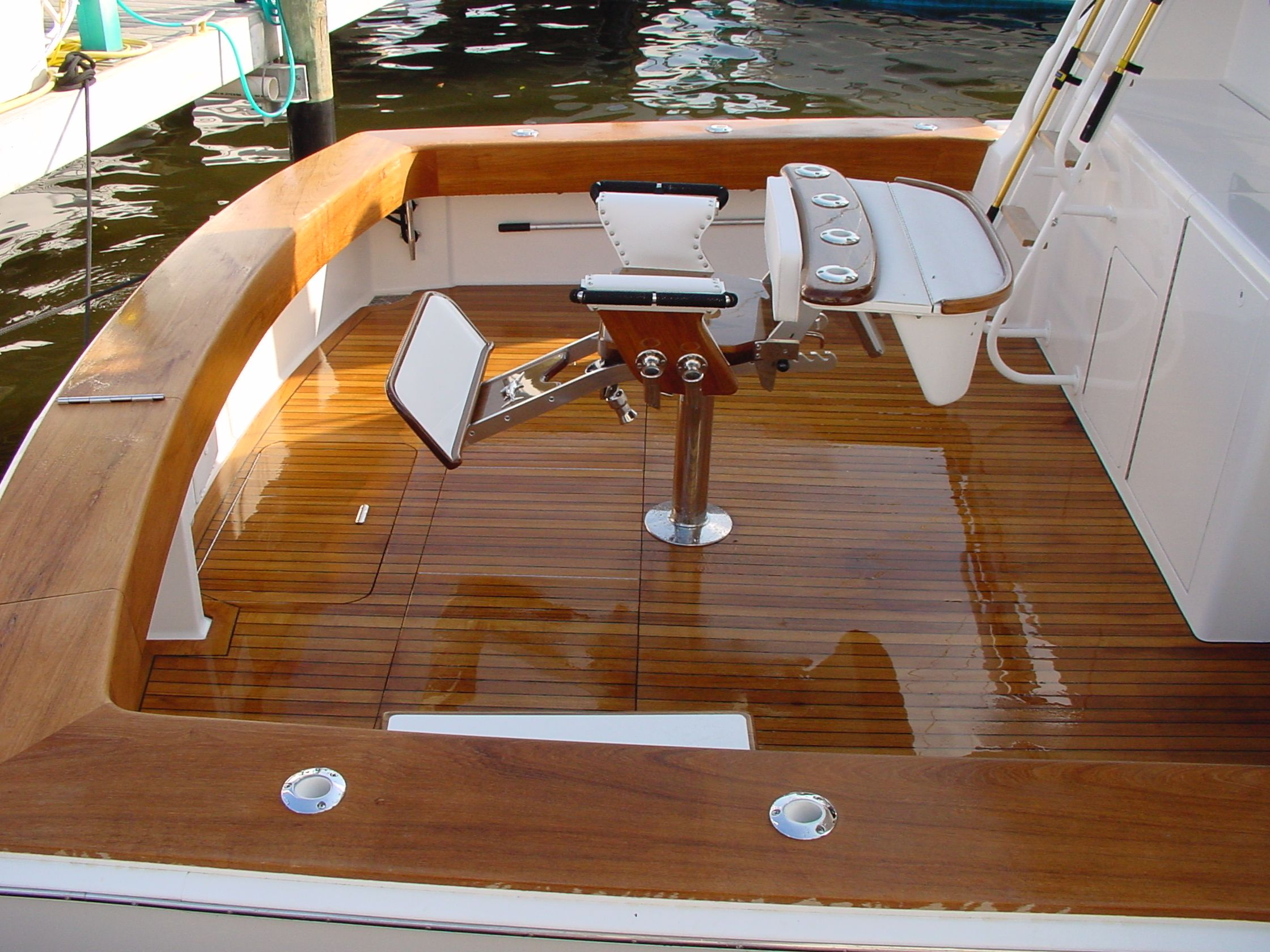 Pin By Phillip Sanders On Sport Fish Boat Interior Wood
