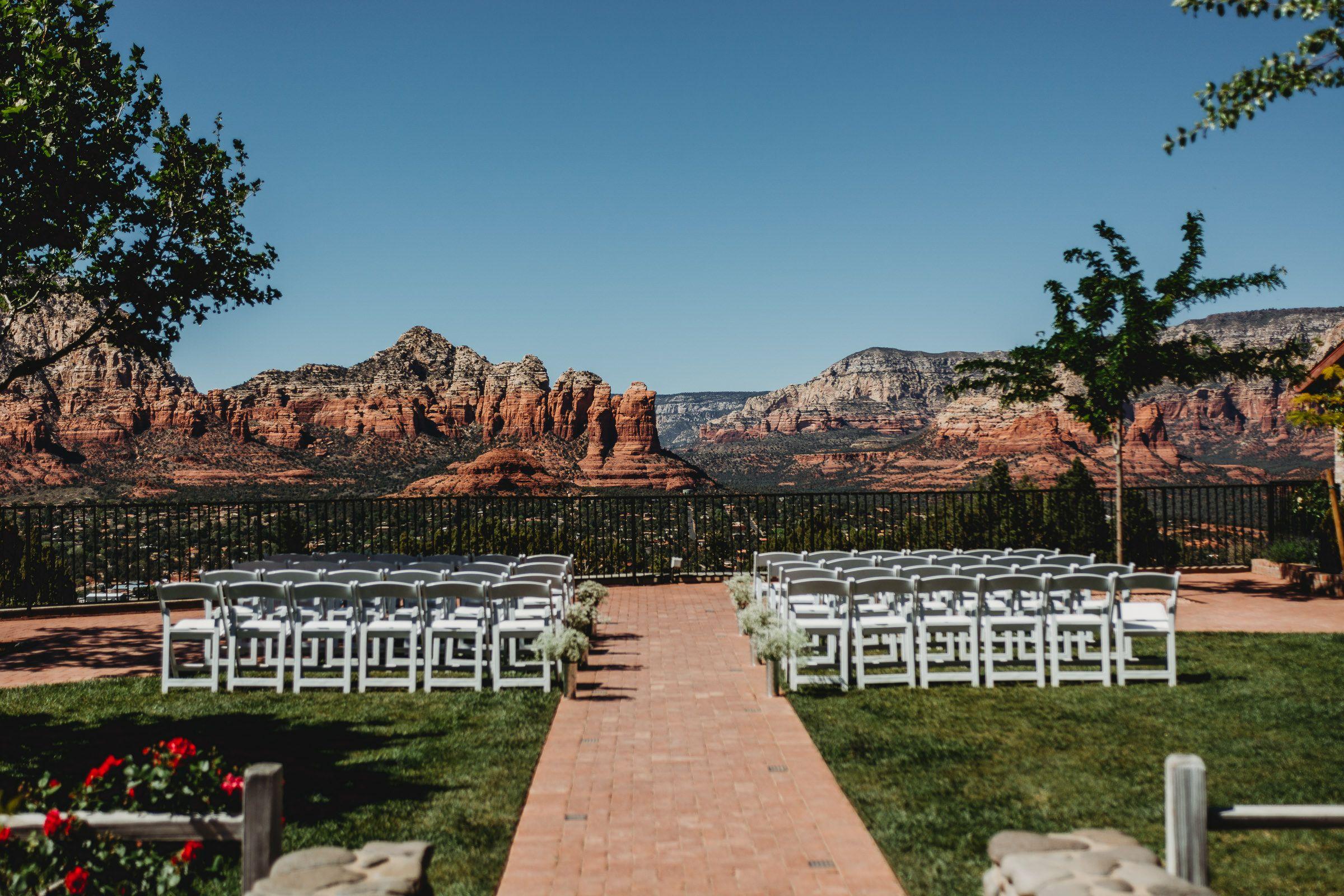 Sky Ranch Lodge Intimate Wedding Sedona Az In 2020 Spokane Weddings Intimate Wedding Intimate Wedding Ceremony