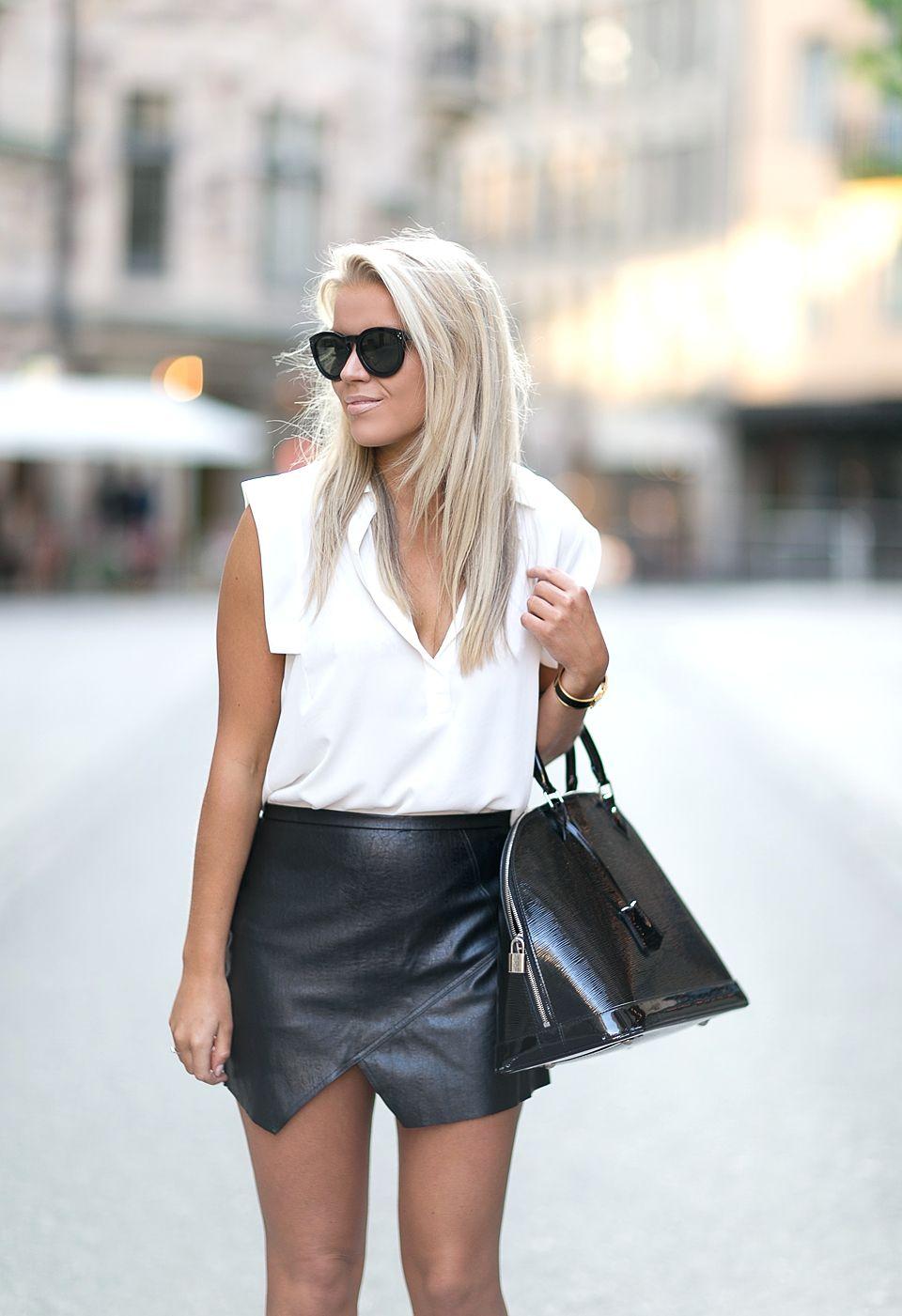 2014  Mango top Glassworks skirt * Louis Vuitton bag Zara heels