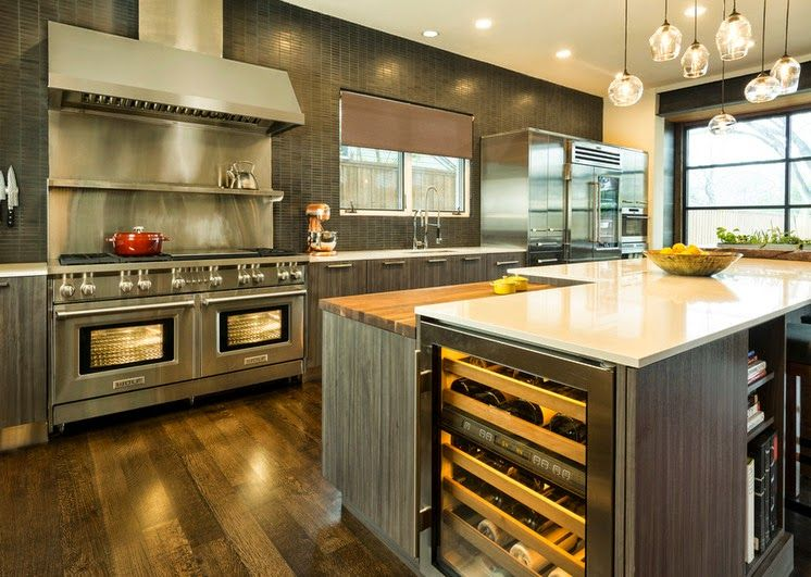 Diseño de Interiores & Arquitectura: Cocina De La Semana. Con Una ...
