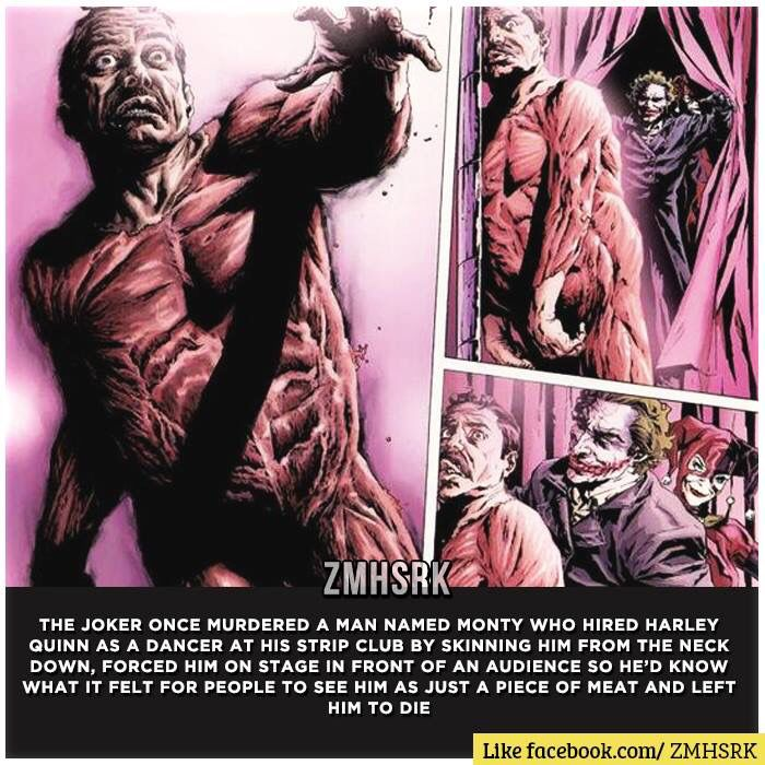 Wow Joker, hardcore. Love it though!