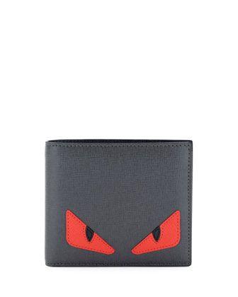 40b41757454 Monster Creature Leather Wallet - Fendi   Tastemaker   Leather ...
