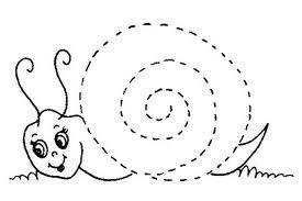ejercicios grafomotores preescolar -