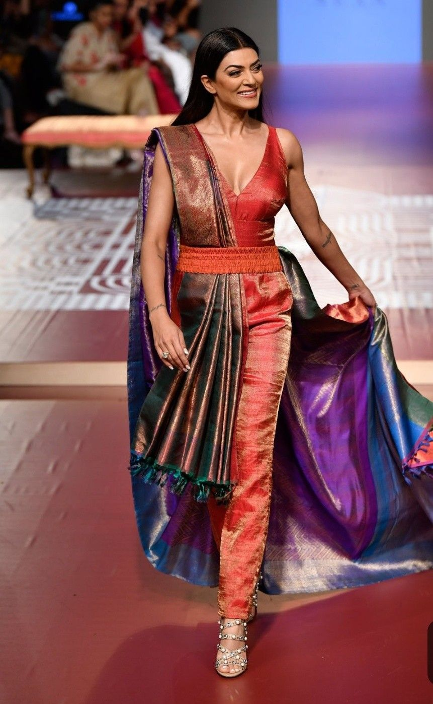 Top 20 Modern Ways Saree Draping Styles To Look Different Beautiful Indian Designer Outfits Designer Dresses Indian Fashion