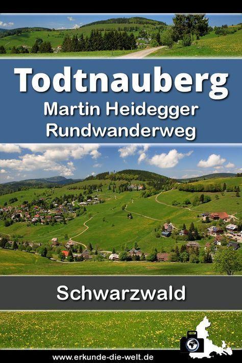 Martin Heidegger Hiking trail Todtnauberg  Martin Heidegger Hiking trail Todtnauberg