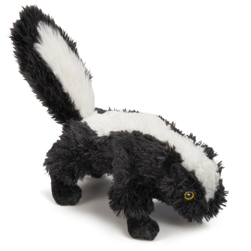 Grriggles Backwoods Buddy Skunk Dog Toy Black White Dog Toys