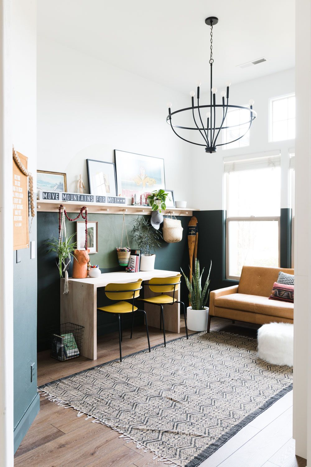 Kid Friendly Office Overhaul Reveal Swsaveme2019 Modern Living