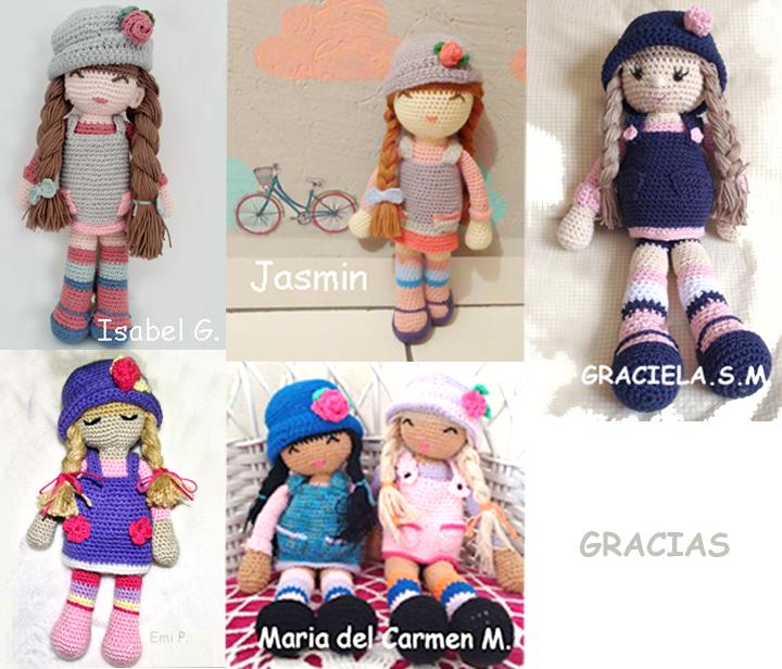 Versiones de la muñeca Anni   dolls   Pinterest   Amigurumi, Free ...