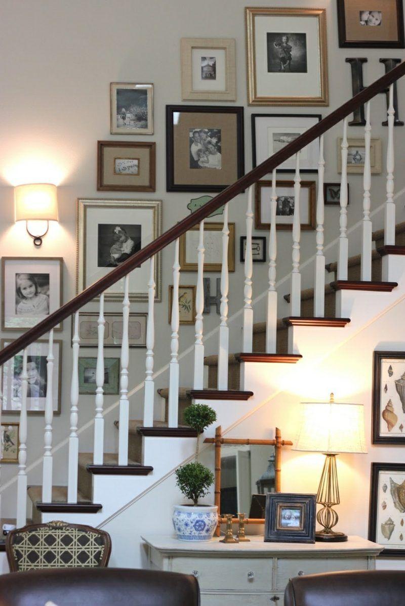 Fotowand zu Hause gestalten- Tipps und 25 kreative Ideen #wallcollage
