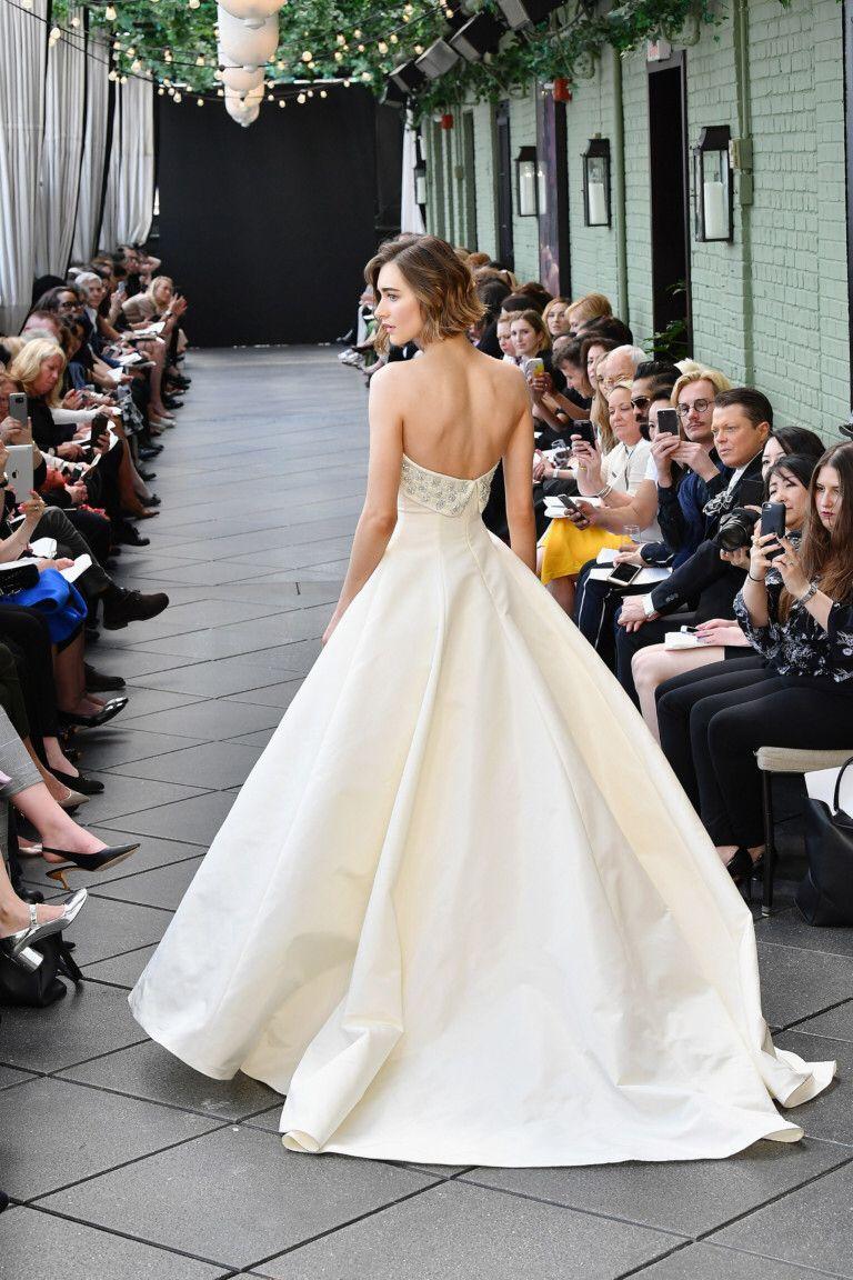Lace off shoulder wedding dress august 2019 Amsale  Wedding ideas  Pinterest  Bridal Amsale bridal and Wedding