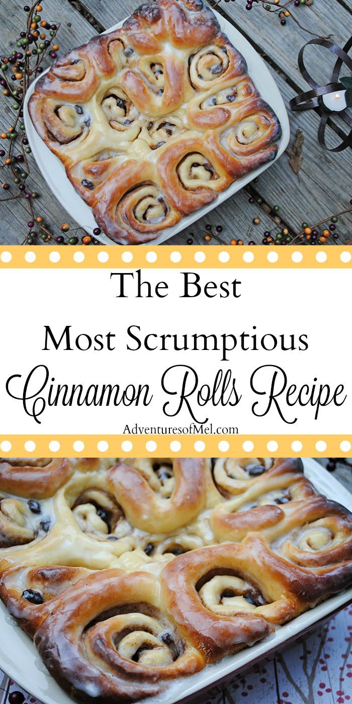 Cozy up with the best most scrumptious cinnamon rolls